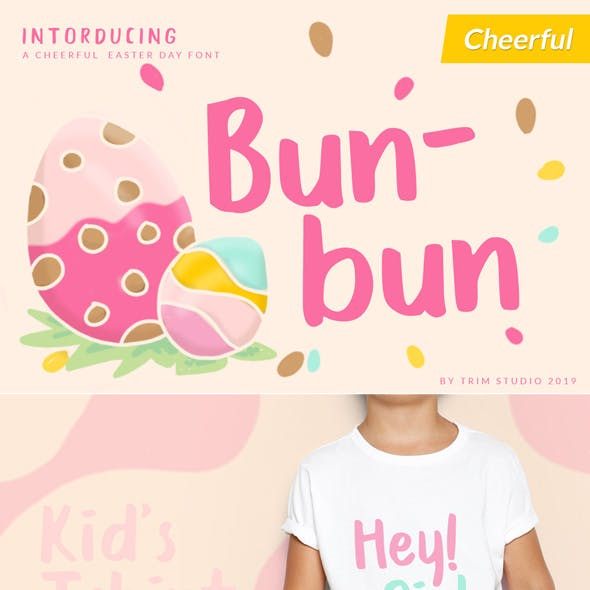Bunbun - Easter Holiday Font