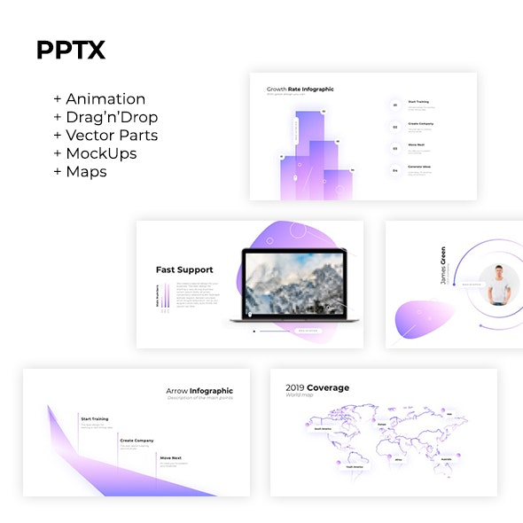 Powerpoint Template - Design Project - Creative PowerPoint Templates