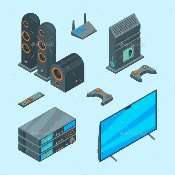 Home Entertainment - Technology Conceptual
