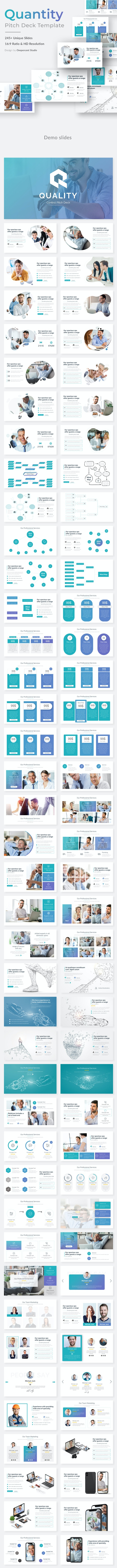 Quality Control Pitch Deck Powerpoint Template - Business PowerPoint Templates