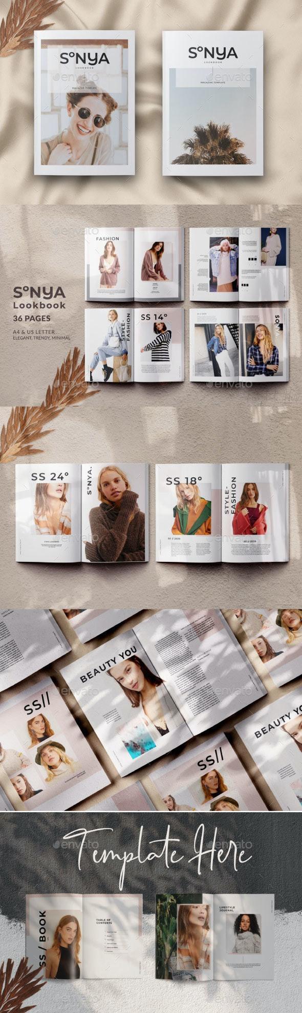 Sonya Lookbook Magazine - Catalogs Brochures