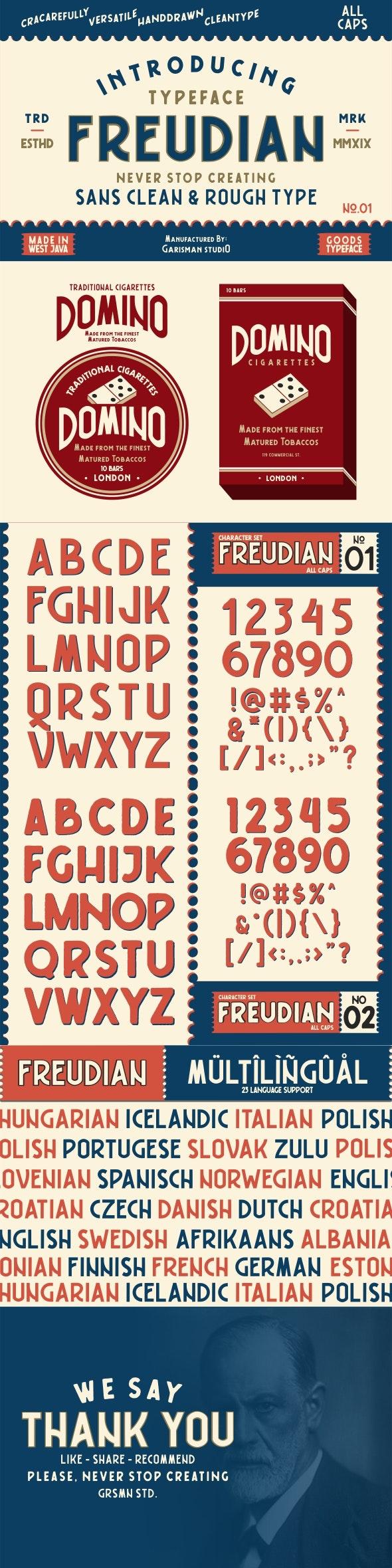 Freudian Typeface - Sans-Serif Fonts