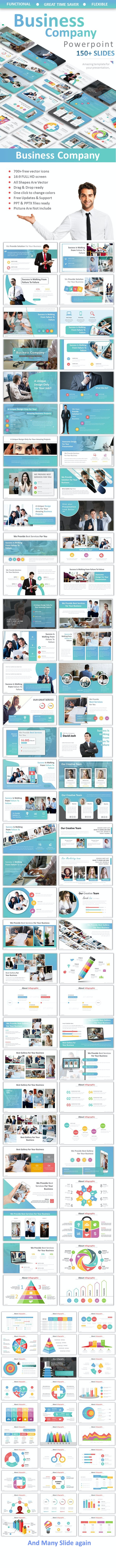 Business Company Powerpoint - Business PowerPoint Templates