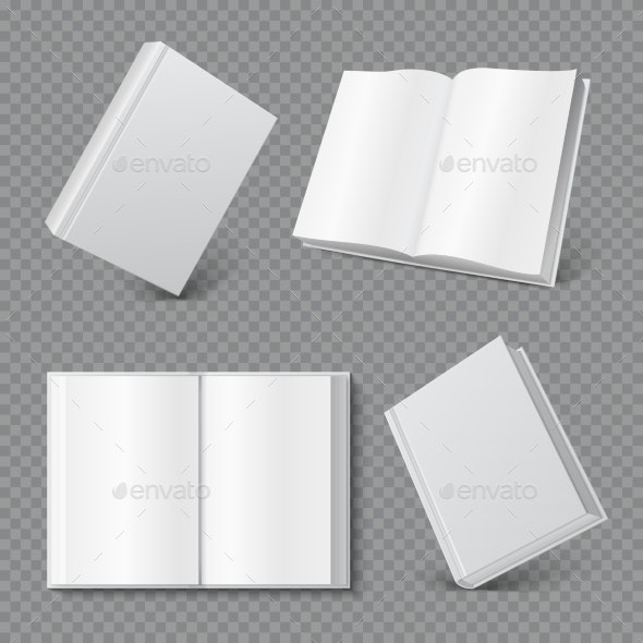Book Cover Mockup - Man-made Objects Objects