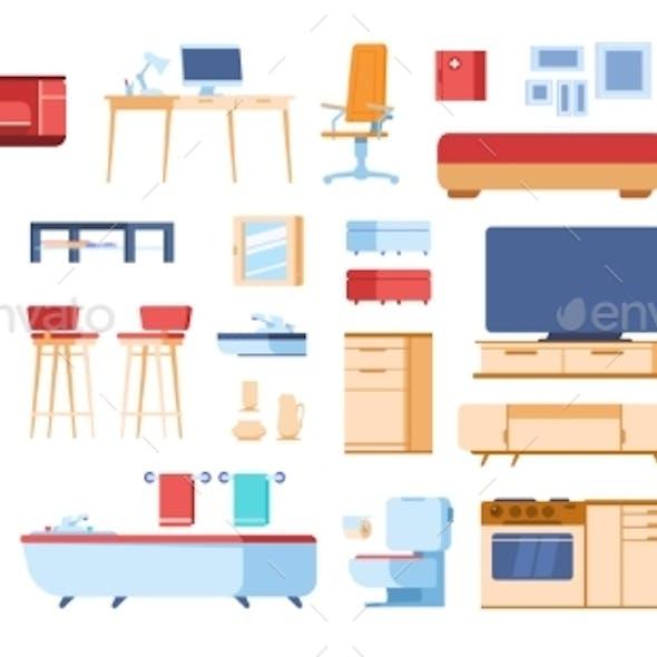Cartoon Interior Furniture