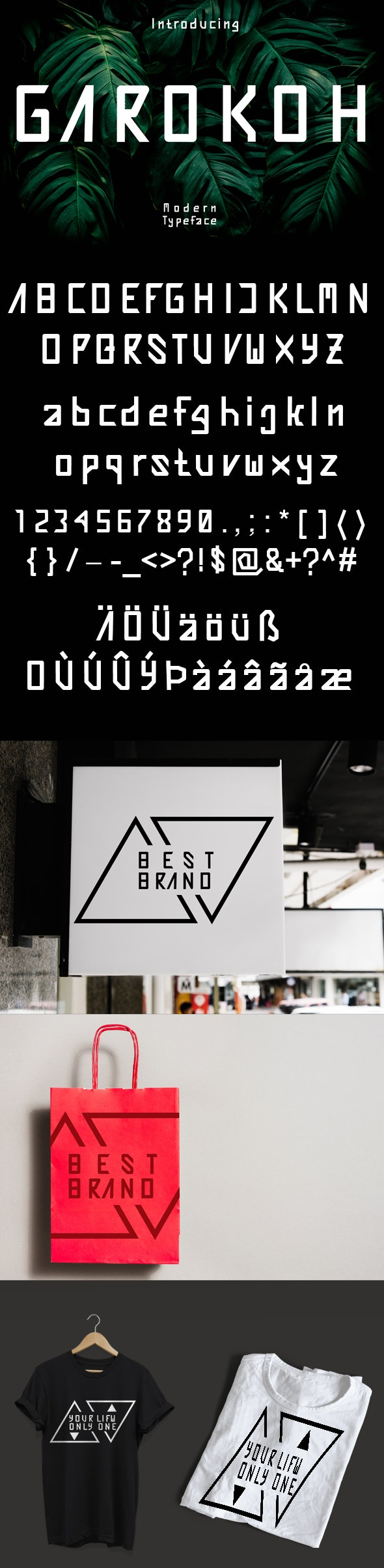 GAROKOH - Cool Fonts