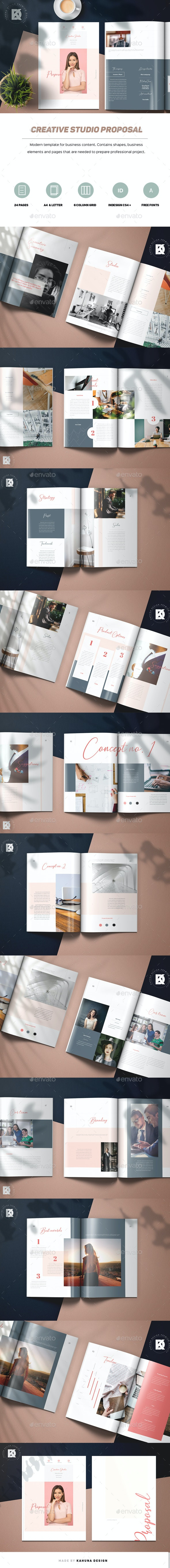 Creative Studio Proposal - Proposals & Invoices Stationery
