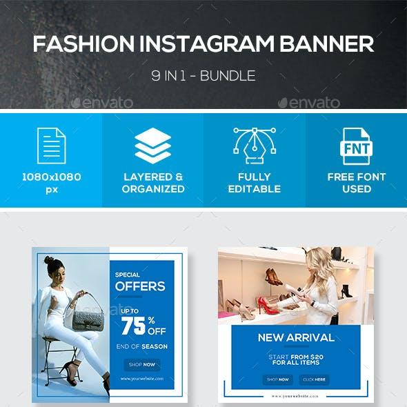 Instagram Fashion Banner Bundle