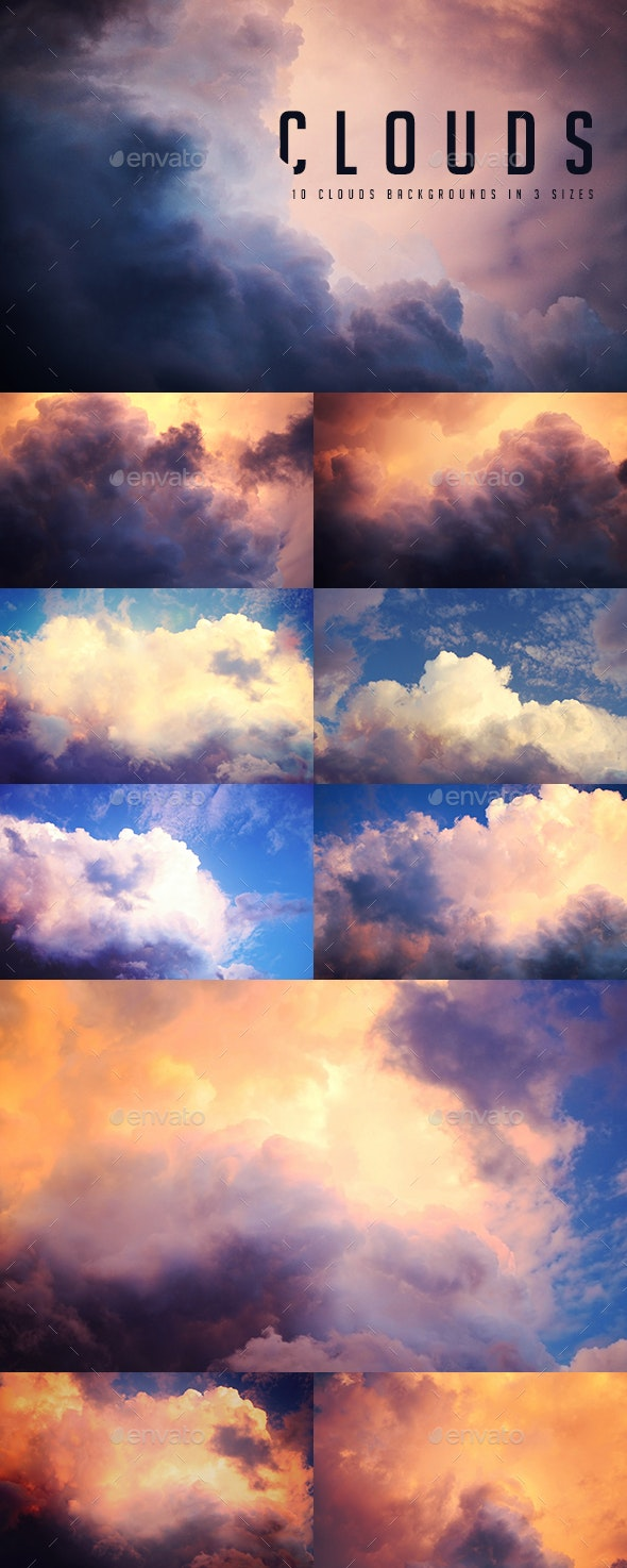 Sky Clouds Backgrounds - Nature Backgrounds