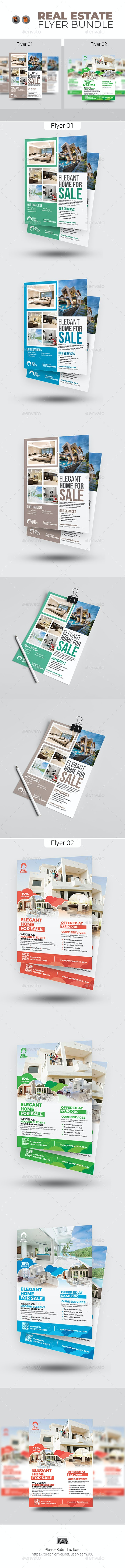 Real Estate Flyer Bundle - Commerce Flyers