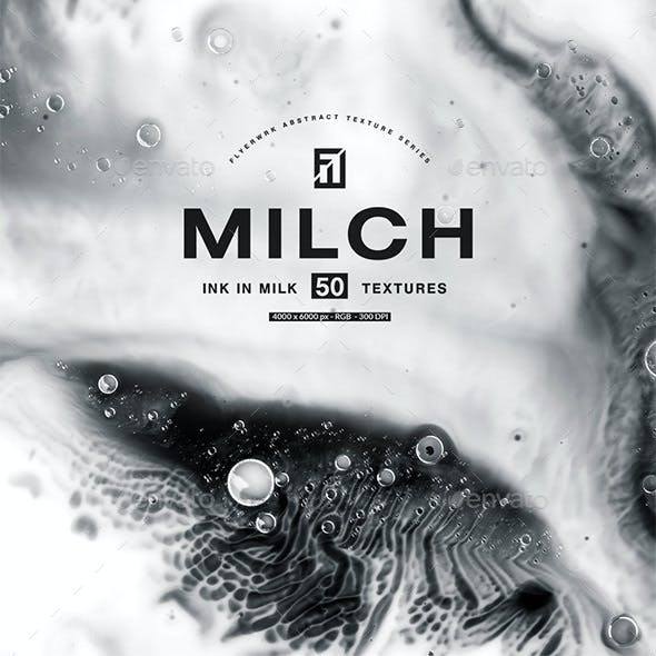 Milch - 100 Ink in Milk Backgrounds