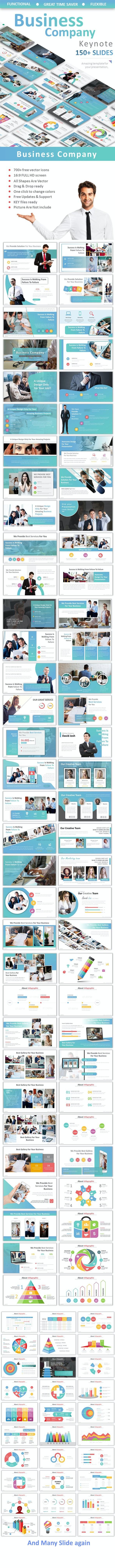 Business Company Keynote - Business Keynote Templates