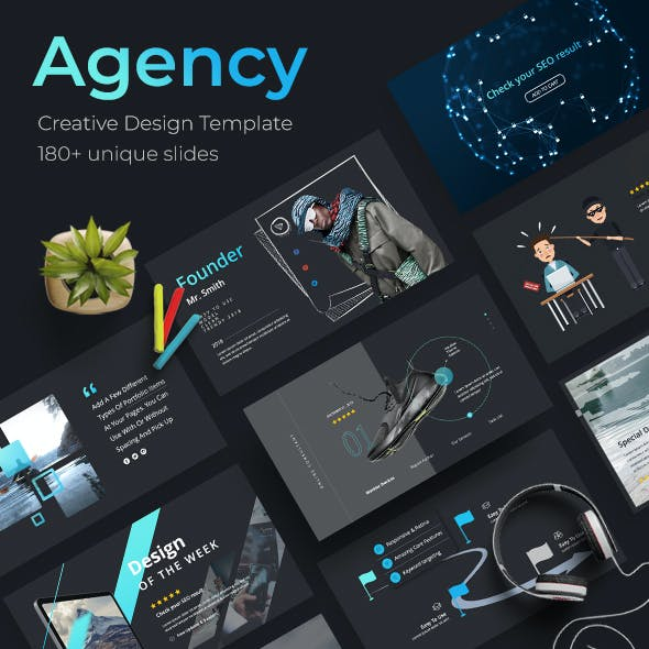 Agency Creative Powerpoint Template