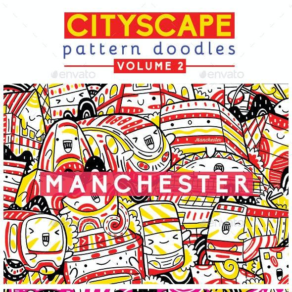 Cityscape Pattern Doodles Volume 2