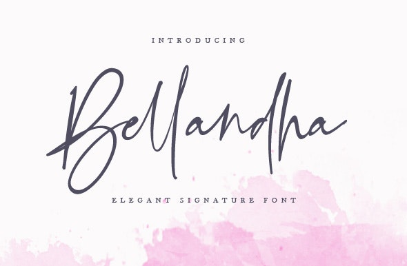 Bellandha - Hand-writing Script