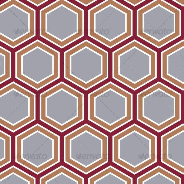 Retro Honeycomb Pattern