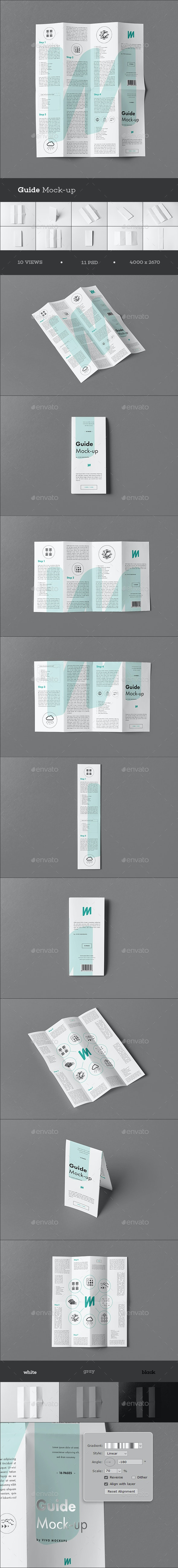 Guide Mock-up - Brochures Print