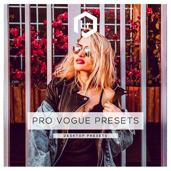 35 Pro Vogue Presets