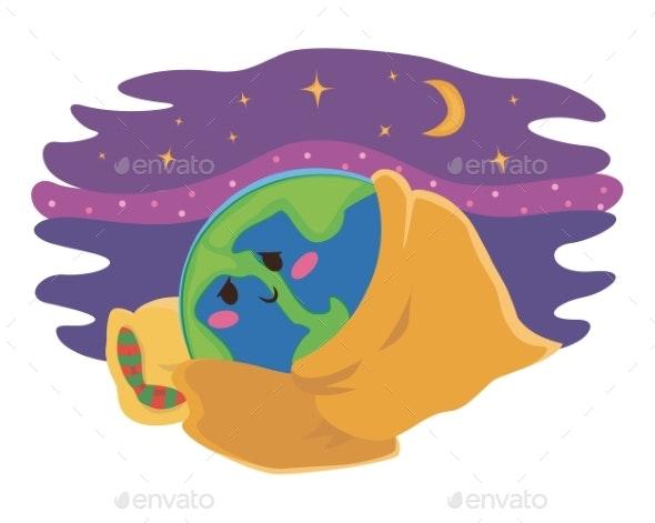 Our Planet Sleeps - Miscellaneous Vectors