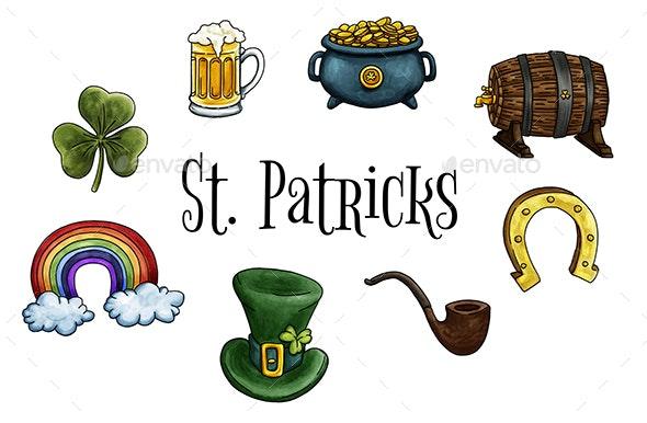 St. Patricks Elements - Miscellaneous Seasons/Holidays
