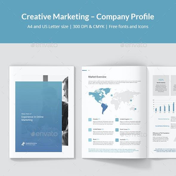 Creative Marketing – Company Profile