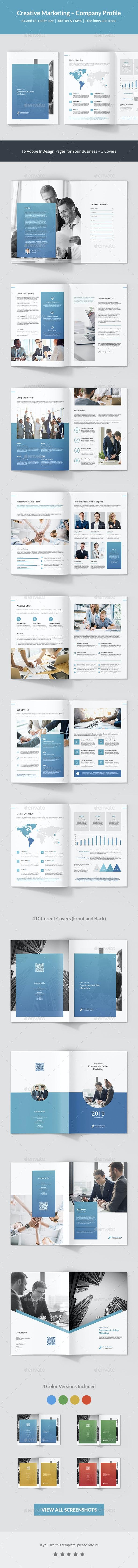 Creative Marketing – Company Profile - Corporate Brochures