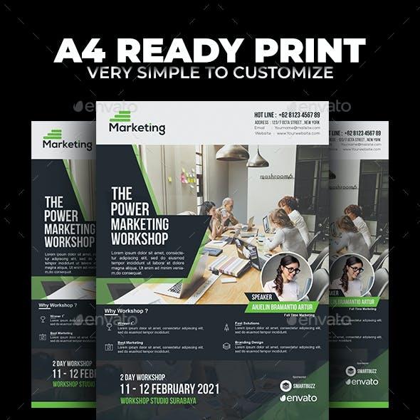 Marketing Workshop Flyer v2