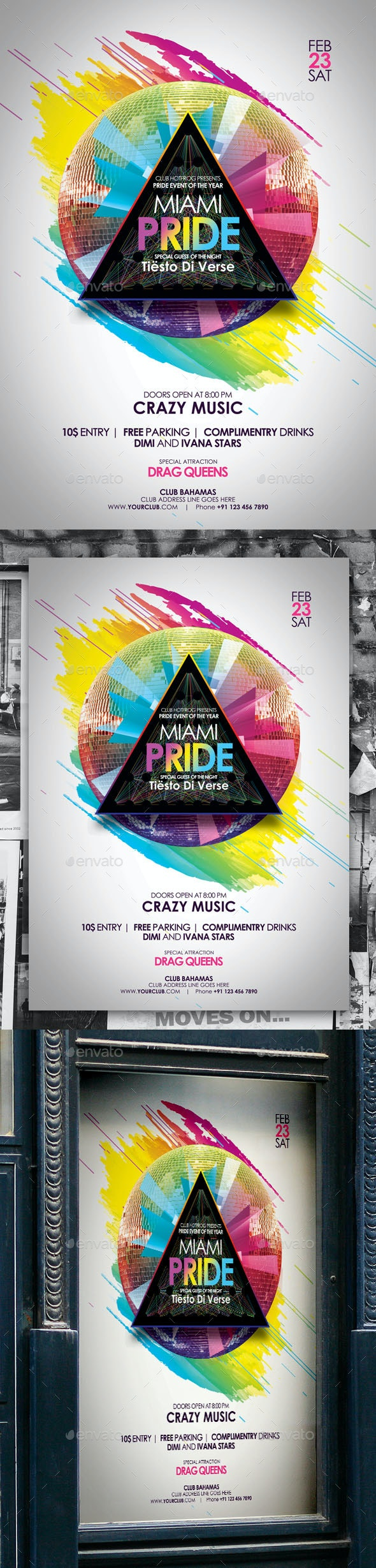 Pride Poster - Events Flyers