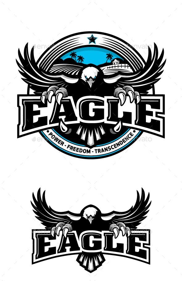 Eagle Hawk Circle - Decorative Symbols Decorative