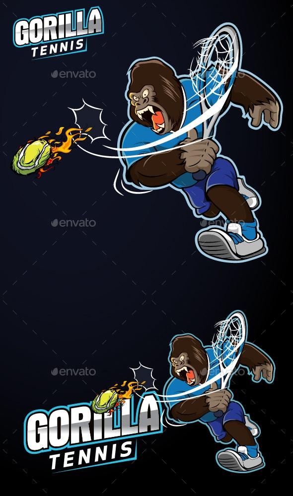 Gorilla Tennis - Animals Characters