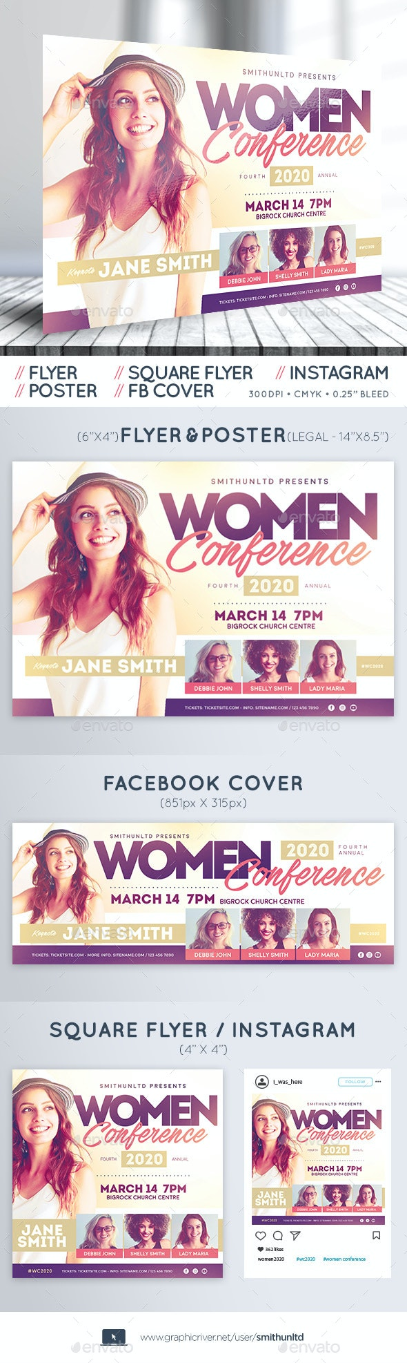 Women's Conference - Complete Set