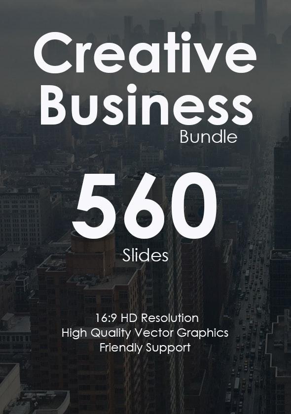 Creative Business Google Slides Bundle - Google Slides Presentation Templates