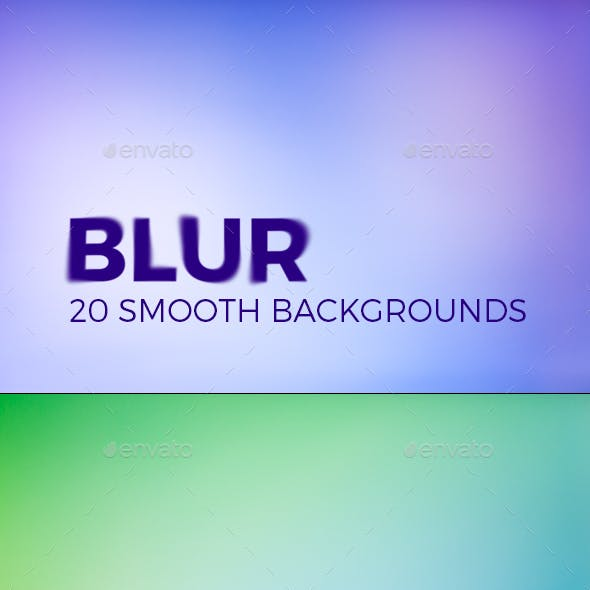 BLUR – 20 Smooth Backgrounds