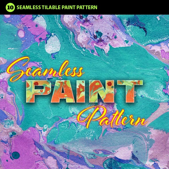 Abstract Paint Photoshop Pattern Vol.2