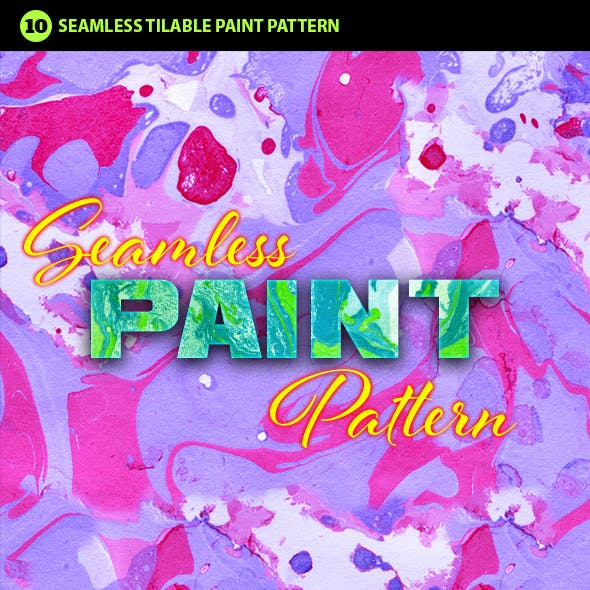 Abstract Paint Photoshop Pattern Vol.3