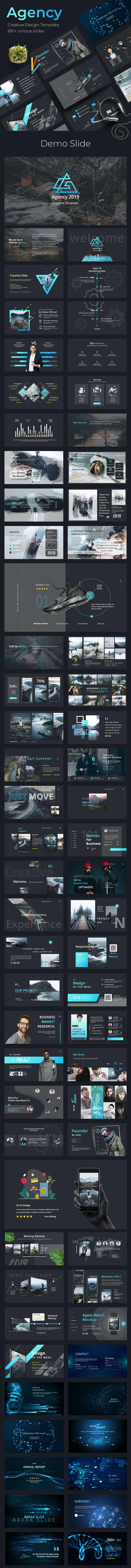 Agency Creative Keynote Template - Creative Keynote Templates