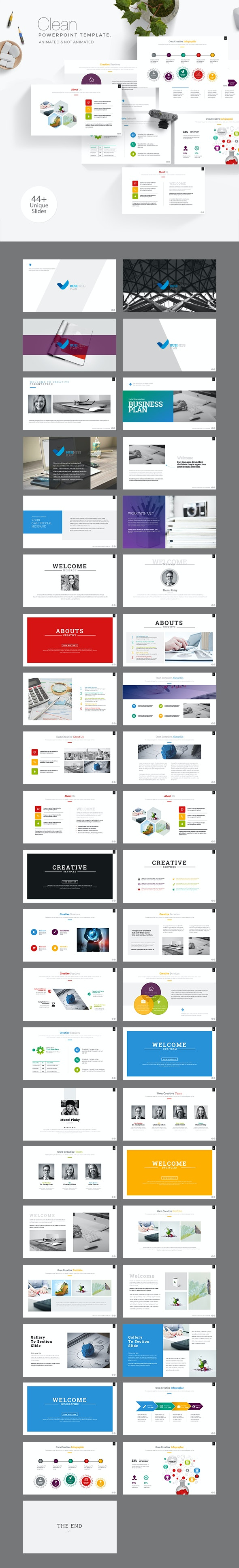 Business Plan Powerpoint PresentationTemplate - Business PowerPoint Templates