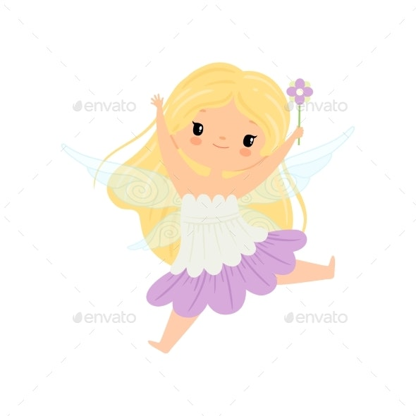 Winged Fairy - People Characters