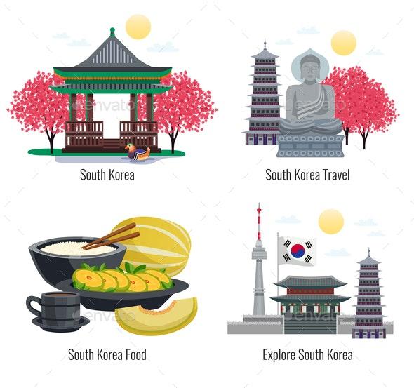 South Korea Design Concept - Buildings Objects