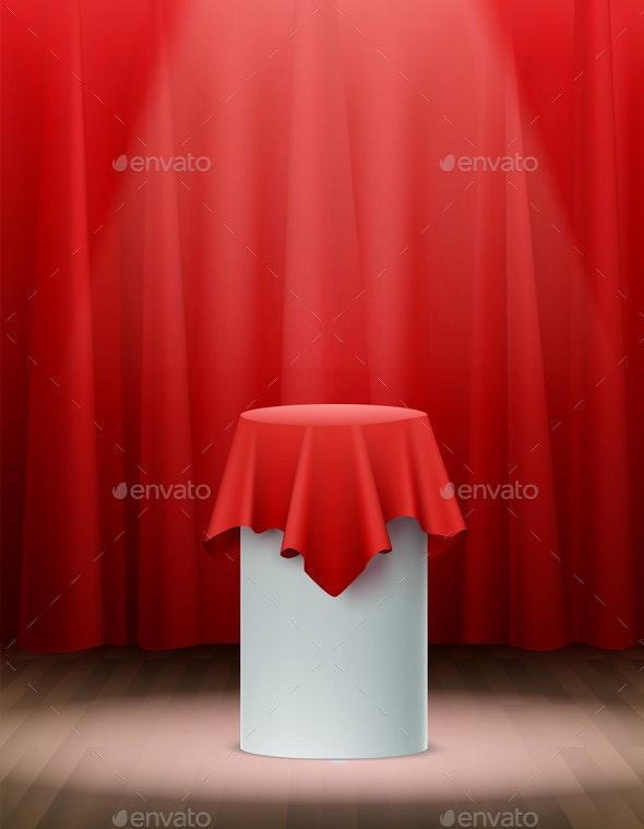 Presentation Silk Cloth Background - Backgrounds Business
