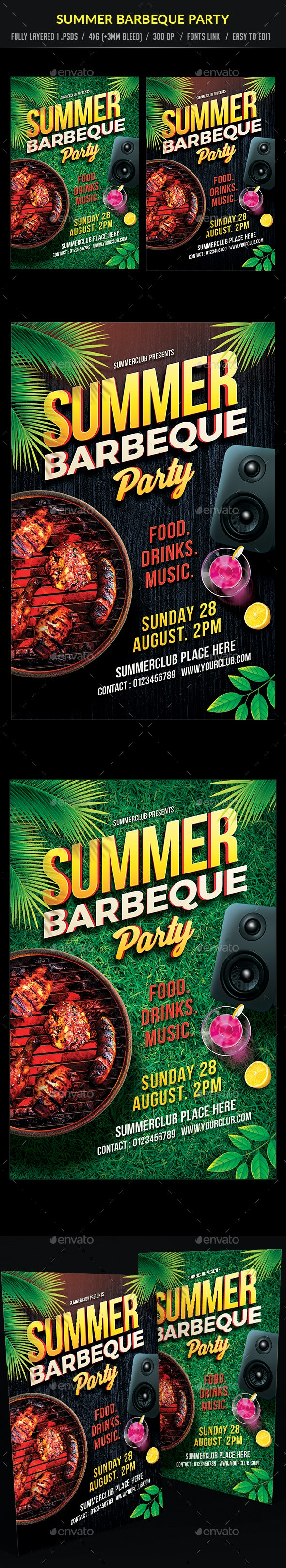 Summer Barbecue Party - Clubs & Parties Events