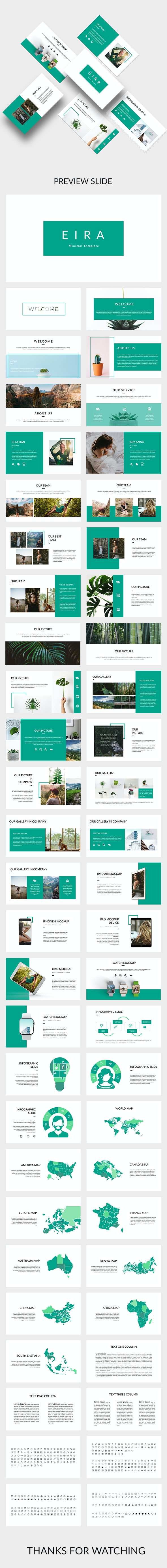 Eira - Creative Powerpoint Template - Creative PowerPoint Templates