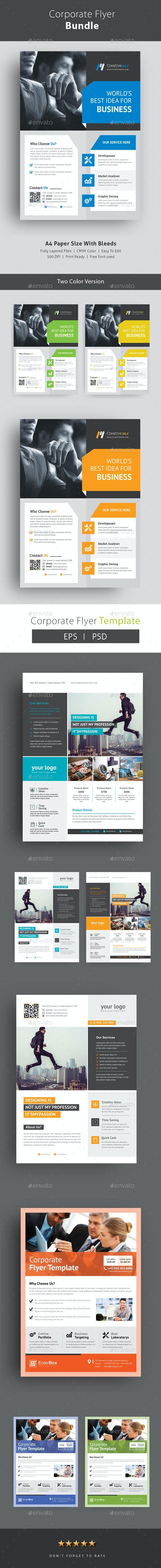 Flyer Bundle - Corporate Brochures