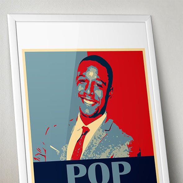 Pro Pop Poster Art Photoshop Actions