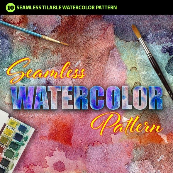 Watercolor Photoshop Pattern Vol.2
