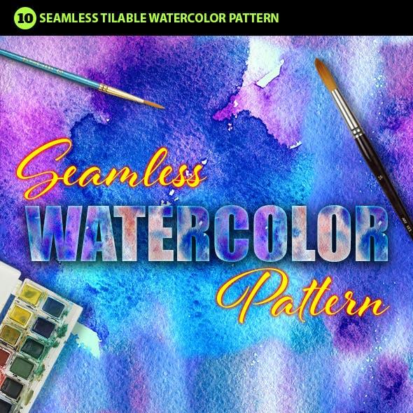 Watercolor Photoshop Pattern Vol.3