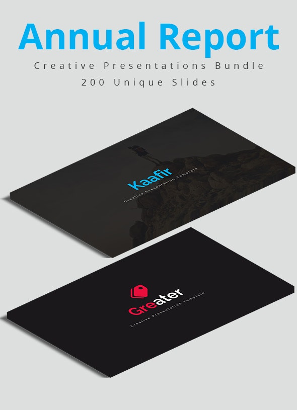 Annual Report Powerpoint Bundle - Business PowerPoint Templates