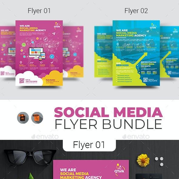 Social Media Flyer Bundle