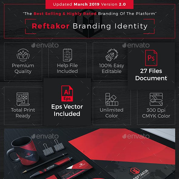 Reftakor Corporate Identity