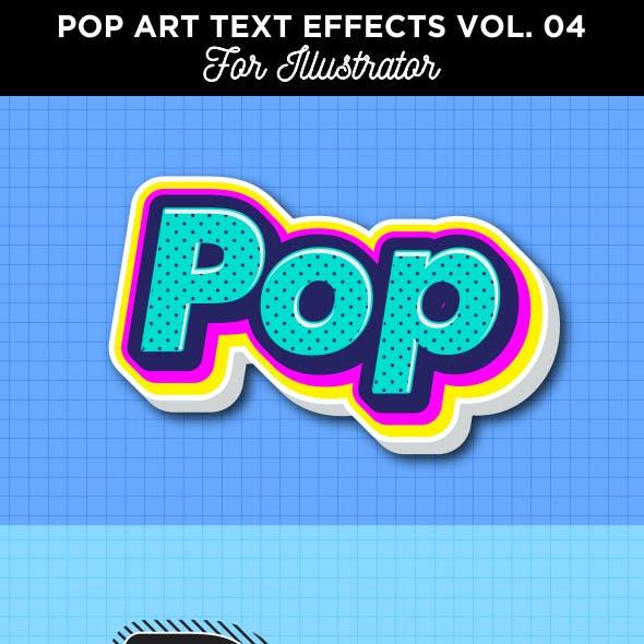 Pop Art Text Effect for Illustrator